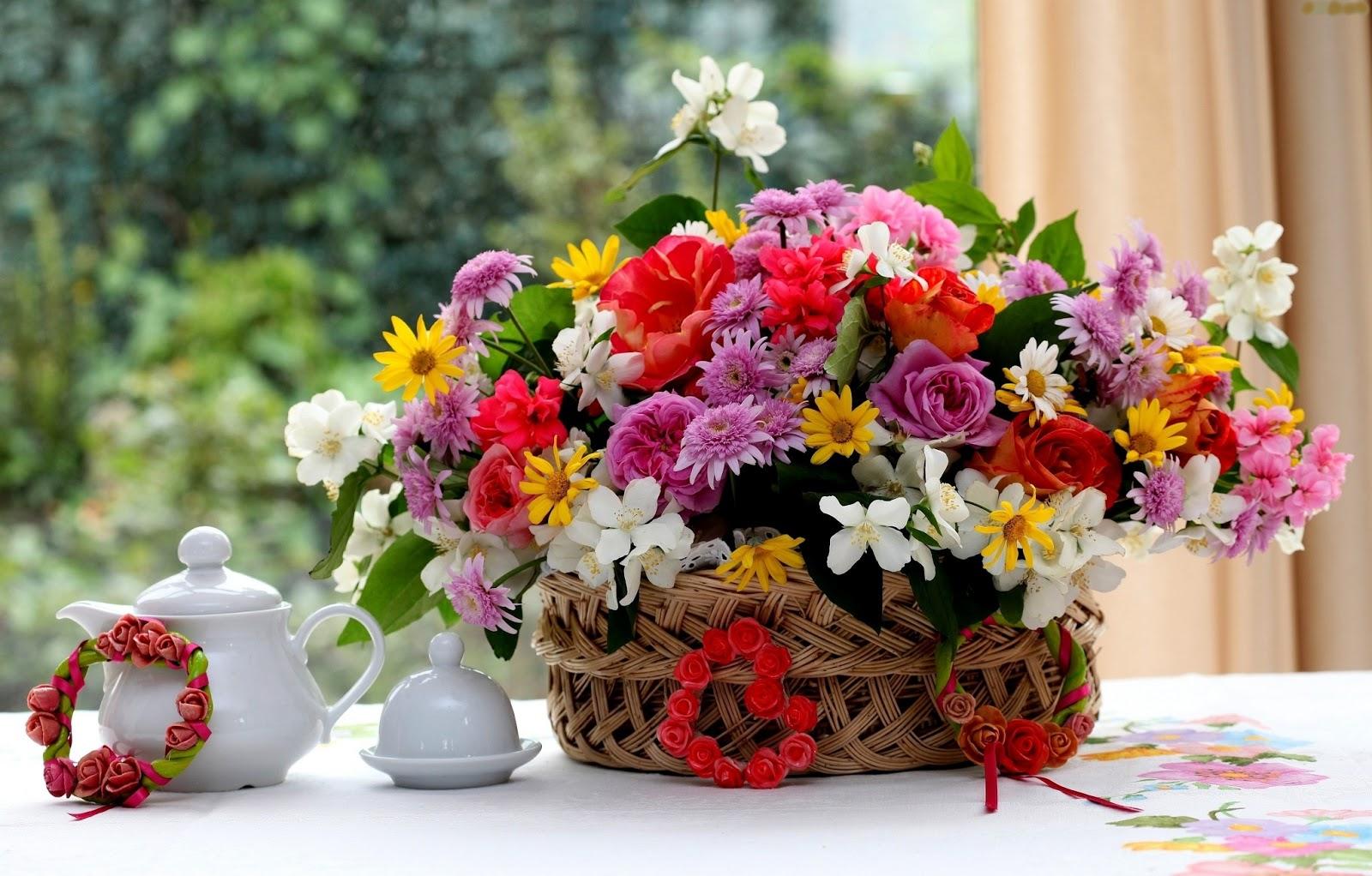 მოჭრილი ყვავილები თაიგულისთვის